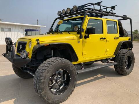 2009 Jeep Wrangler Unlimited for sale at Keller Motors in Palco KS