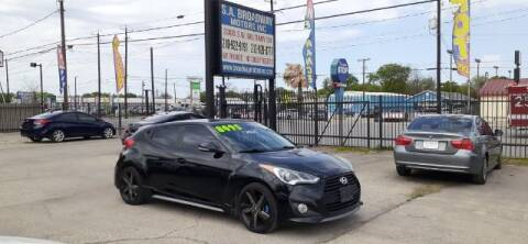 2014 Hyundai Veloster for sale at S.A. BROADWAY MOTORS INC in San Antonio TX
