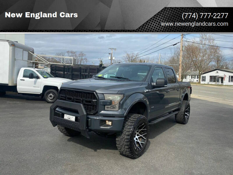 2016 Ford F-150 for sale at New England Cars in Attleboro MA