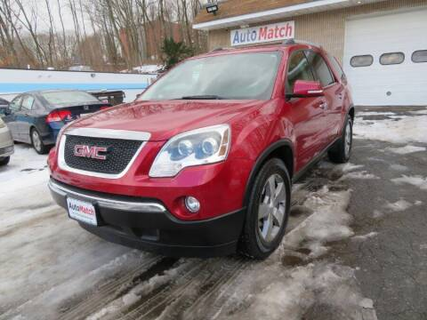 2012 GMC Acadia for sale at Auto Match in Waterbury CT