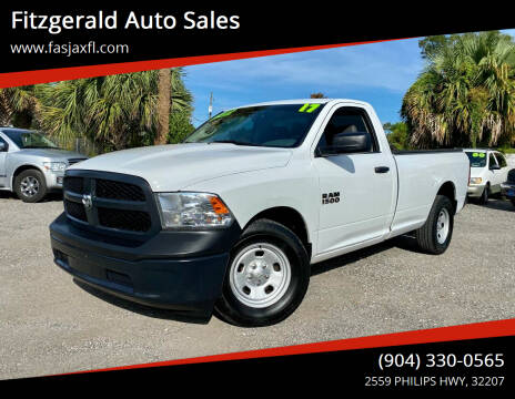 2017 RAM Ram Pickup 1500 for sale at Fitzgerald Auto Sales in Jacksonville FL