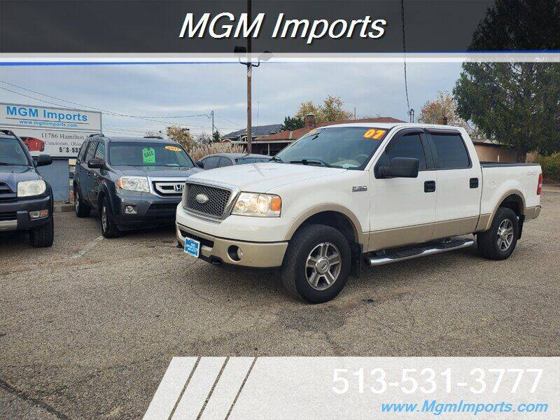 2007 Ford F-150 for sale at MGM Imports in Cincannati OH