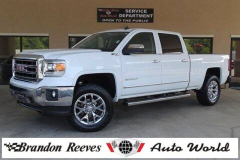 2014 GMC Sierra 1500 for sale at Brandon Reeves Auto World in Monroe NC