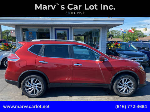 2014 Nissan Rogue for sale at Marv`s Car Lot Inc. in Zeeland MI