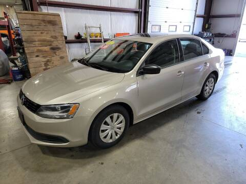 2012 Volkswagen Jetta for sale at Hometown Automotive Service & Sales in Holliston MA