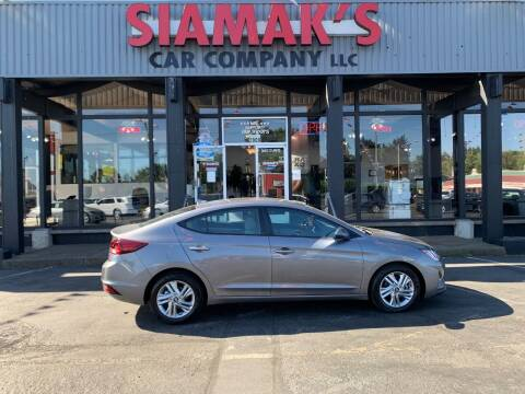 2020 Hyundai Elantra for sale at Siamak's Car Company llc in Salem OR