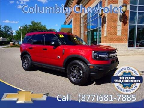 2021 Ford Bronco Sport for sale at COLUMBIA CHEVROLET in Cincinnati OH