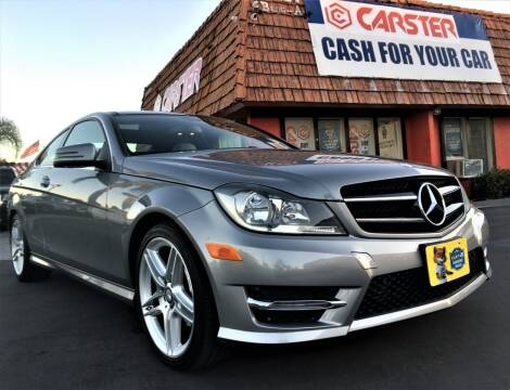 2014 Mercedes-Benz C-Class for sale at CARSTER in Huntington Beach CA