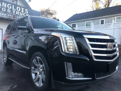 2015 Cadillac Escalade for sale at Langlois Auto and Truck LLC in Kingston NH