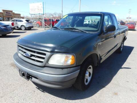 2003 Ford F-150 for sale at AUGE'S SALES AND SERVICE in Belen NM