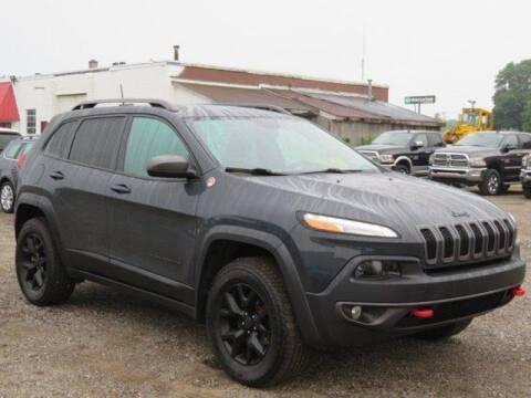 2016 Jeep Cherokee for sale at Ed Koehn Chevrolet in Rockford MI