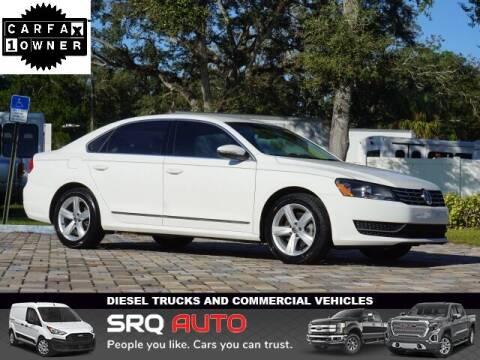 2012 Volkswagen Passat for sale at SRQ Auto LLC in Bradenton FL