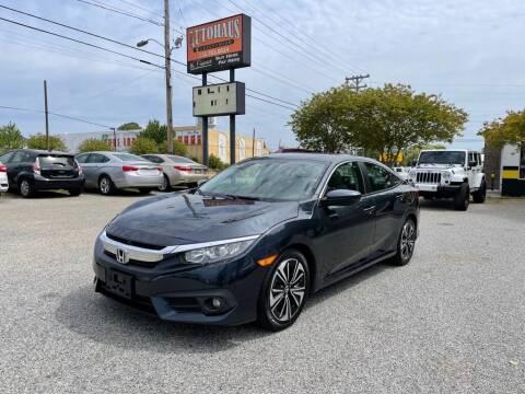 2016 Honda Civic for sale at Autohaus of Greensboro in Greensboro NC