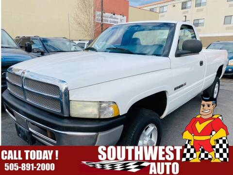 2000 Dodge Ram Pickup 1500 for sale at SOUTHWEST AUTO in Albuquerque NM
