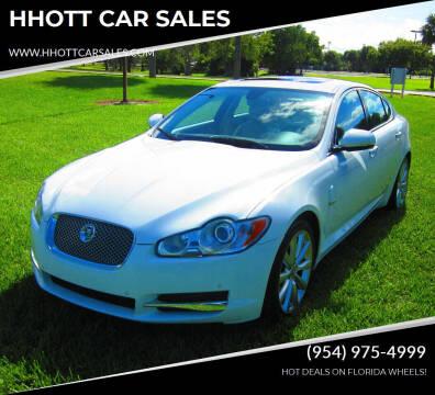 2011 Jaguar XF for sale at HHOTT CAR SALES in Deerfield Beach FL
