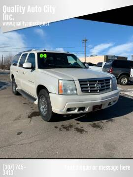 2004 Cadillac Escalade ESV for sale at Quality Auto City Inc. in Laramie WY