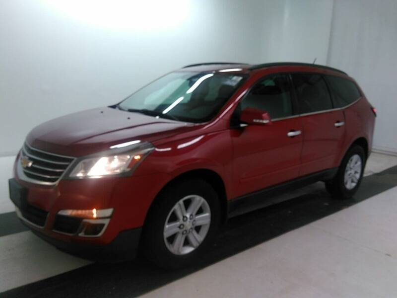 2014 Chevrolet Traverse for sale at RT Auto Center in Quincy IL