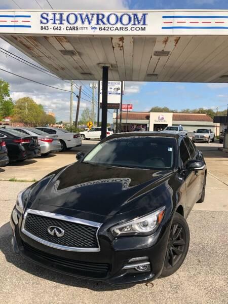 2016 Infiniti Q50 for sale at Showroom Auto Sales of Charleston in Charleston SC