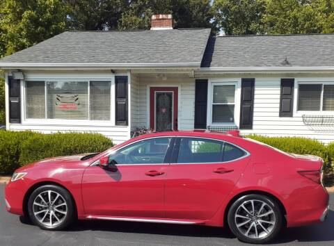 2018 Acura TLX for sale at SIGNATURES AUTOMOTIVE GROUP LLC in Spartanburg SC