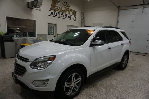 2016 Chevrolet Equinox for sale at Elite Auto Sales in Ammon ID