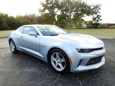 2018 Chevrolet Camaro for sale at SUPER DEAL MOTORS 441 in Hollywood FL