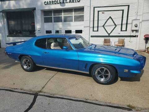 1972 Pontiac GTO for sale at Carroll Street Auto in Manchester NH