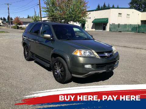 2006 Acura MDX for sale at Car Craft Auto Sales Inc in Lynnwood WA