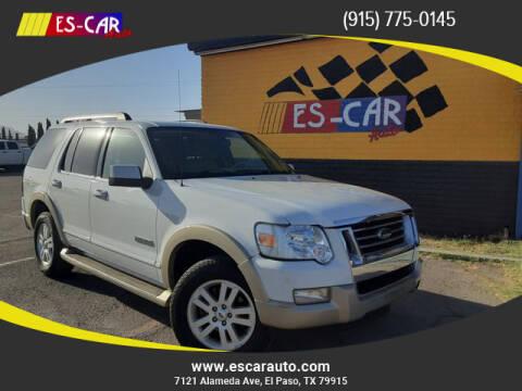 2006 Ford Explorer for sale at Escar Auto in El Paso TX