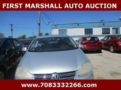 2007 Volkswagen Jetta for sale at First Marshall Auto Auction in Harvey IL
