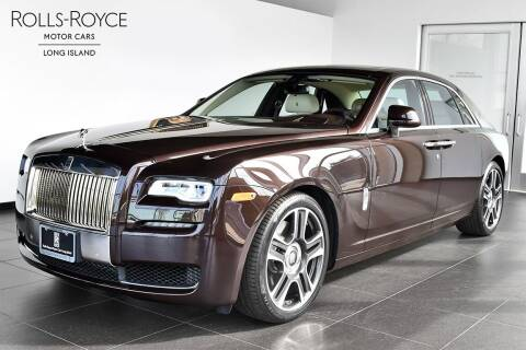 2017 Rolls-Royce Ghost for sale at Bespoke Motor Group in Jericho NY