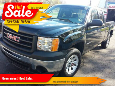 2007 GMC Sierra 1500 for sale at Government Fleet Sales in Kansas City MO