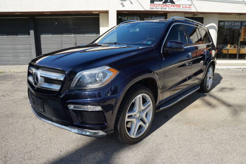 2013 Mercedes-Benz GL-Class for sale at PA Motorcars in Conshohocken PA