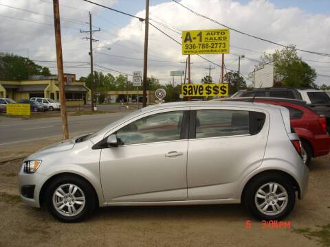 2013 Chevrolet Sonic for sale at A-1 Auto Sales in Conroe TX