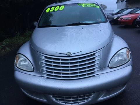 2003 Chrysler PT Cruiser for sale at BIRD'S AUTOMOTIVE & CUSTOMS in Ephrata PA