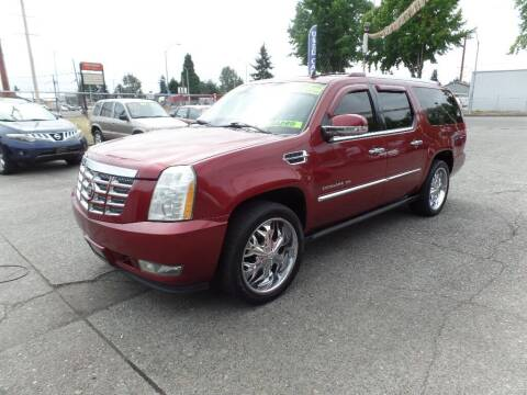 2008 Cadillac Escalade ESV for sale at Gold Key Motors in Centralia WA
