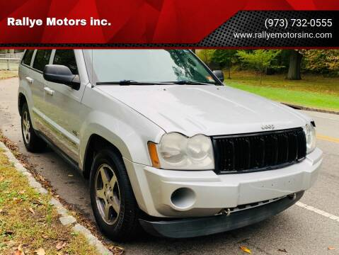 2006 Jeep Grand Cherokee for sale at Rallye  Motors inc. in Newark NJ