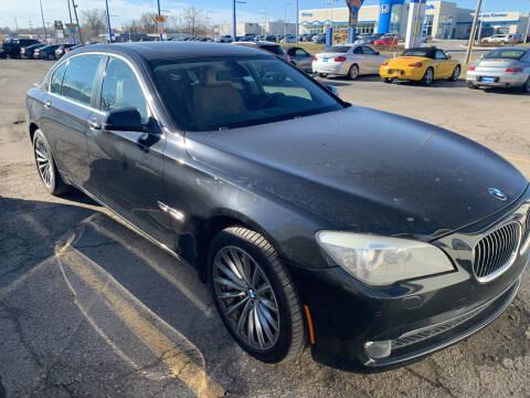 2011 BMW 7 Series for sale at Ol Mac Motors in Topeka KS