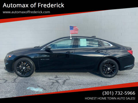 2017 Chevrolet Malibu for sale at Automax of Frederick in Frederick MD