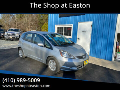 2012 Honda Fit for sale at The Shop at Easton in Easton MD