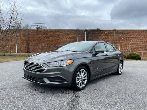 2017 Ford Fusion Hybrid for sale at RoadLink Auto Sales in Greensboro NC