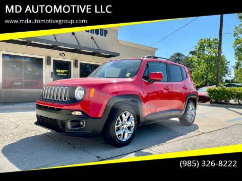 2017 Jeep Renegade for sale at MD AUTOMOTIVE LLC in Slidell LA