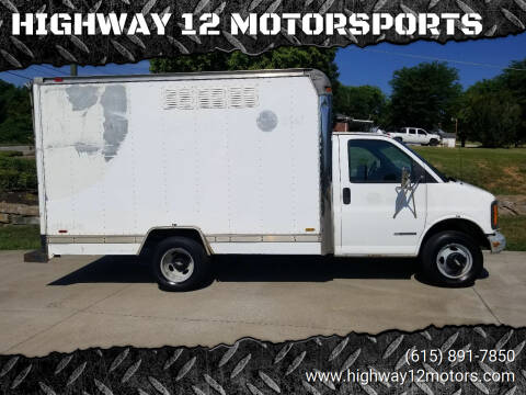 1998 Chevrolet Express for sale at HIGHWAY 12 MOTORSPORTS in Nashville TN