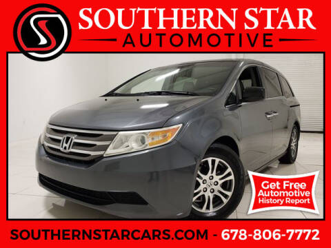 2011 Honda Odyssey for sale at Southern Star Automotive, Inc. in Duluth GA