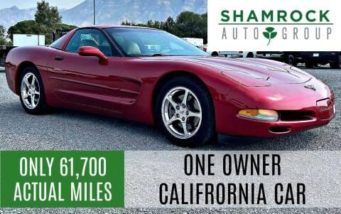 2002 Chevrolet Corvette for sale at Shamrock Group LLC #1 in Pleasant Grove UT