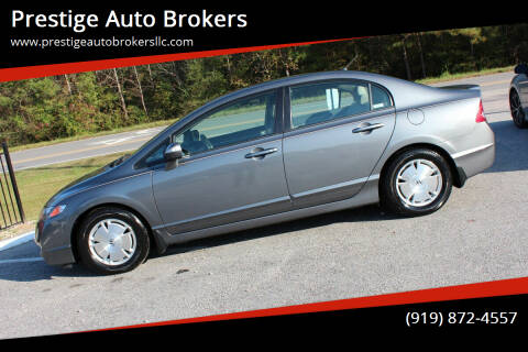 2009 Honda Civic for sale at Prestige Auto Brokers in Raleigh NC