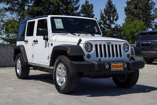 2017 Jeep Wrangler Unlimited for sale at Washington Auto Credit in Puyallup WA