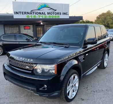 2013 Land Rover Range Rover Sport for sale at International Motors Inc. in Nashville TN