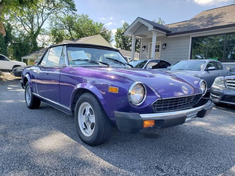1980 FIAT Pininfarina for sale at M & A Motors LLC in Marietta GA