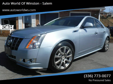 2013 Cadillac CTS for sale at Auto World Of Winston - Salem in Winston Salem NC