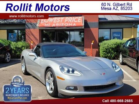 2006 Chevrolet Corvette for sale at Rollit Motors in Mesa AZ
